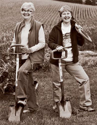 Women's Work: Ann Adams and Liz Brensinger of Green Heron Tools